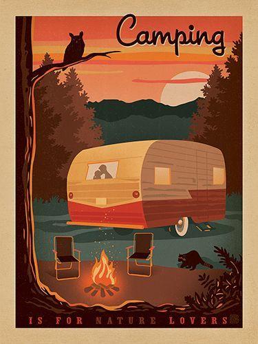vintage trailer art