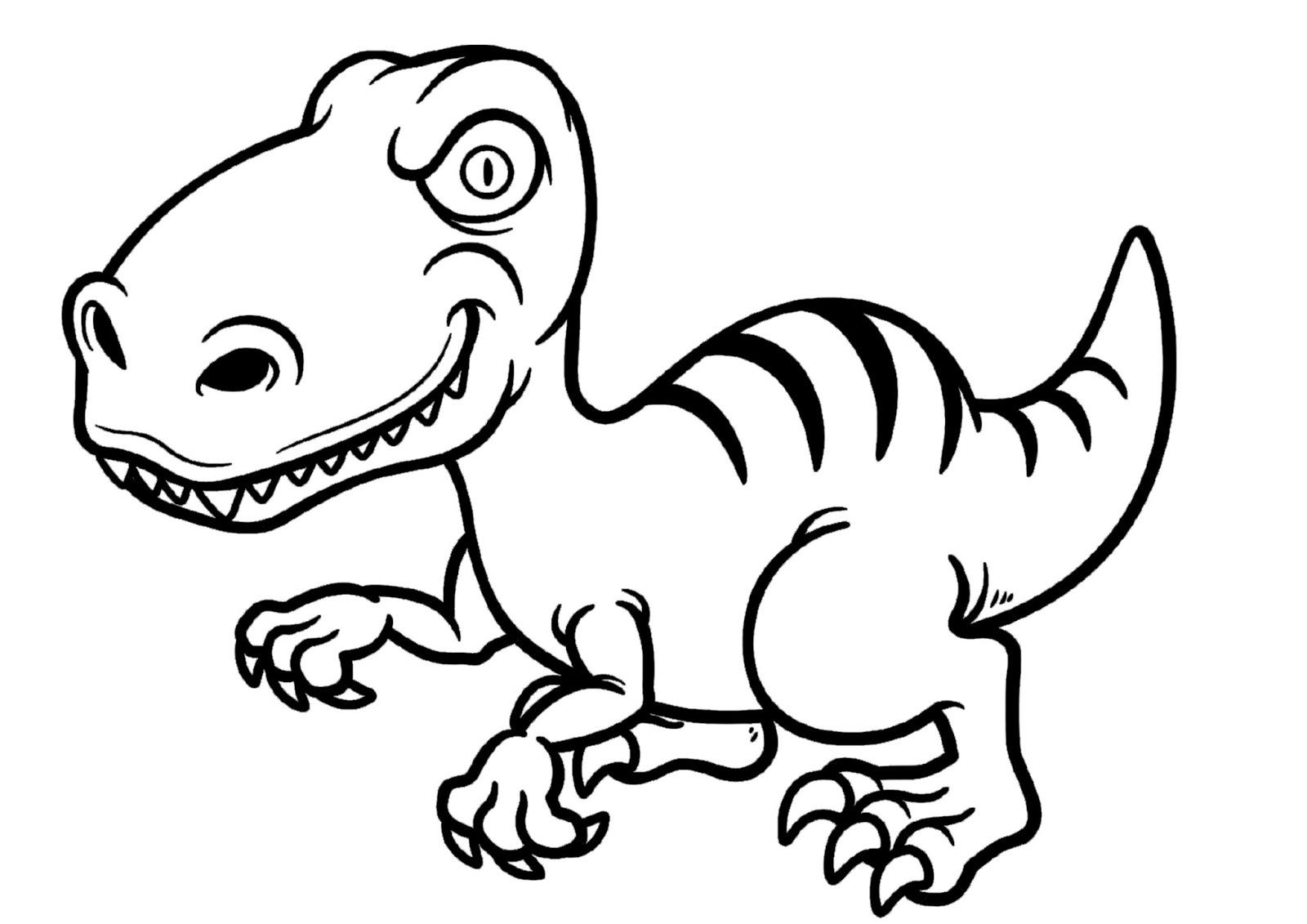 Dibujos Para Colorear Dinosaurios 50 Imágenes