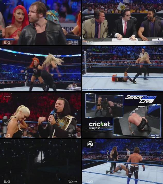 WWE Smackdown Live 26 July 2016 HDTV 480p