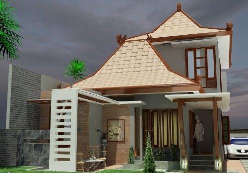 45 Desain Rumah Joglo Khas Jawa Tengah