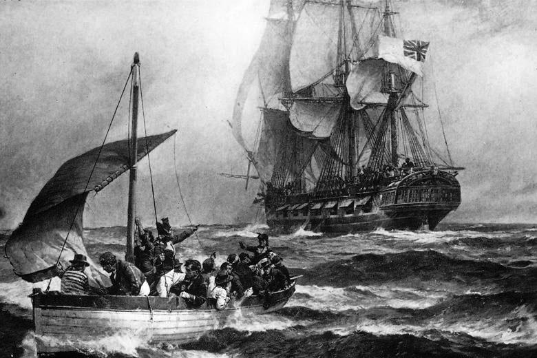 Mutiny on the Bounty (1790)