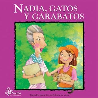 Imagen del Libro de cuentos Nadia, gatos y garabatos