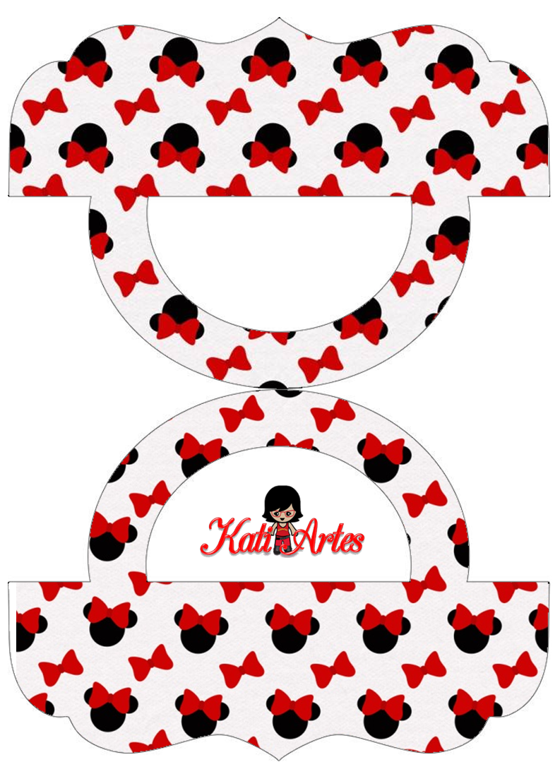 Minnie Free Printable Candy Bag Label Oh My Fiesta In