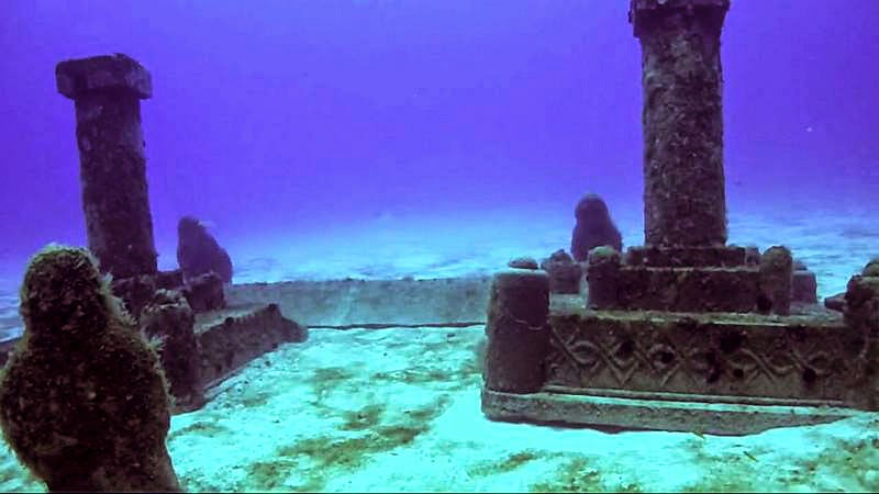 3. Dwarka, Gulf of Cambay, India - 5 Mind Blowing Underwater Cities