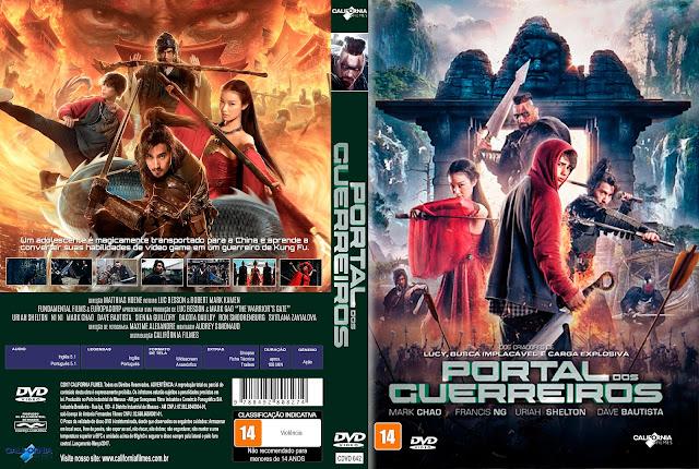 Capa DVD Portal Dos Guerreiros