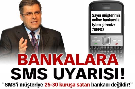 bankalara yapılan uyarı
