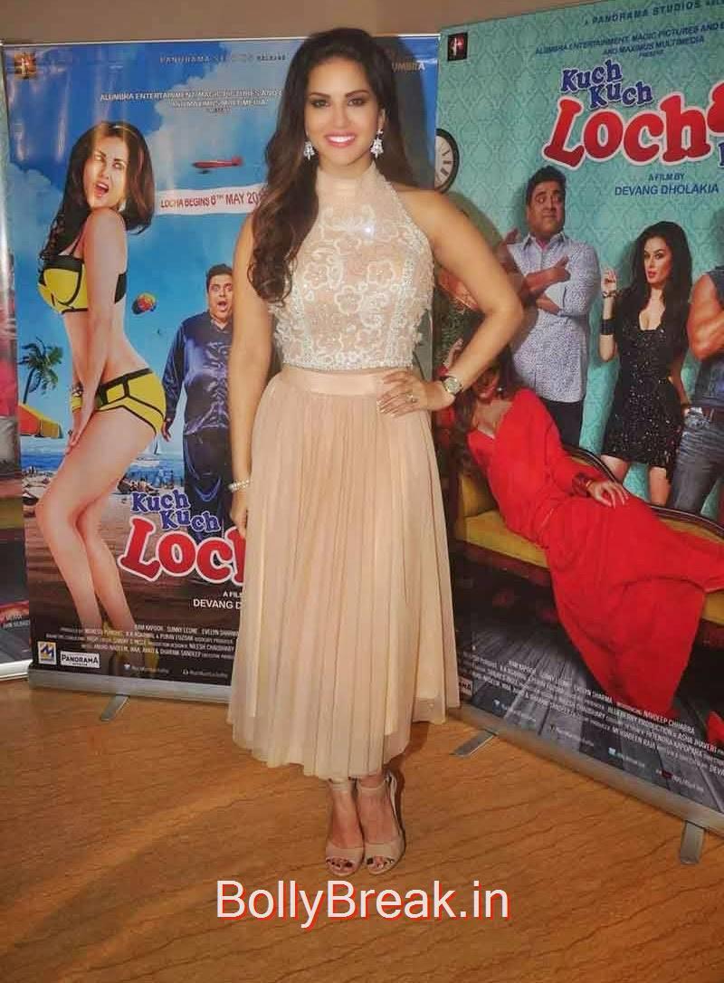 Sunny Leone Hot Pics From Kuch Kuch Locha Hai Audio Launch -5178