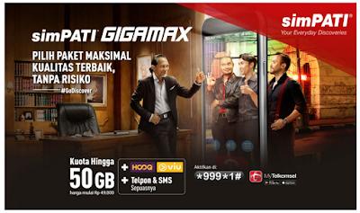Ini Dia Paket Internet Murah simPATI GIGAMAX
