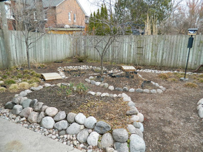 Riverdale spring 2018 garden cleanup after by Paul Jung Gardening Services a Toronto gardening company