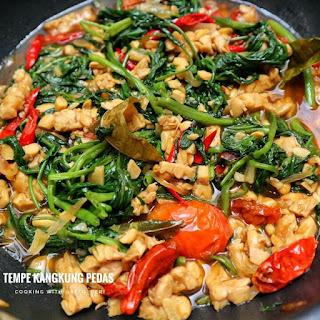 Ide Resep Masak Sayur Tempe Kangkung Pedas