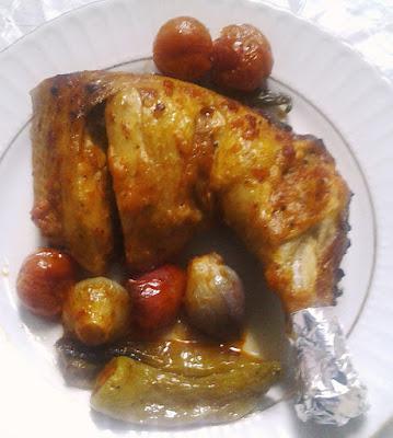 fırında tavuk but nasıl yapılır