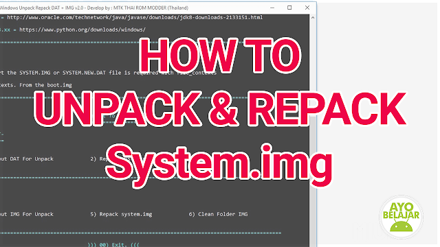 tutorial unpack and repack system.dat system.new.dat, how to unpack and repack system.dat system.new.dat