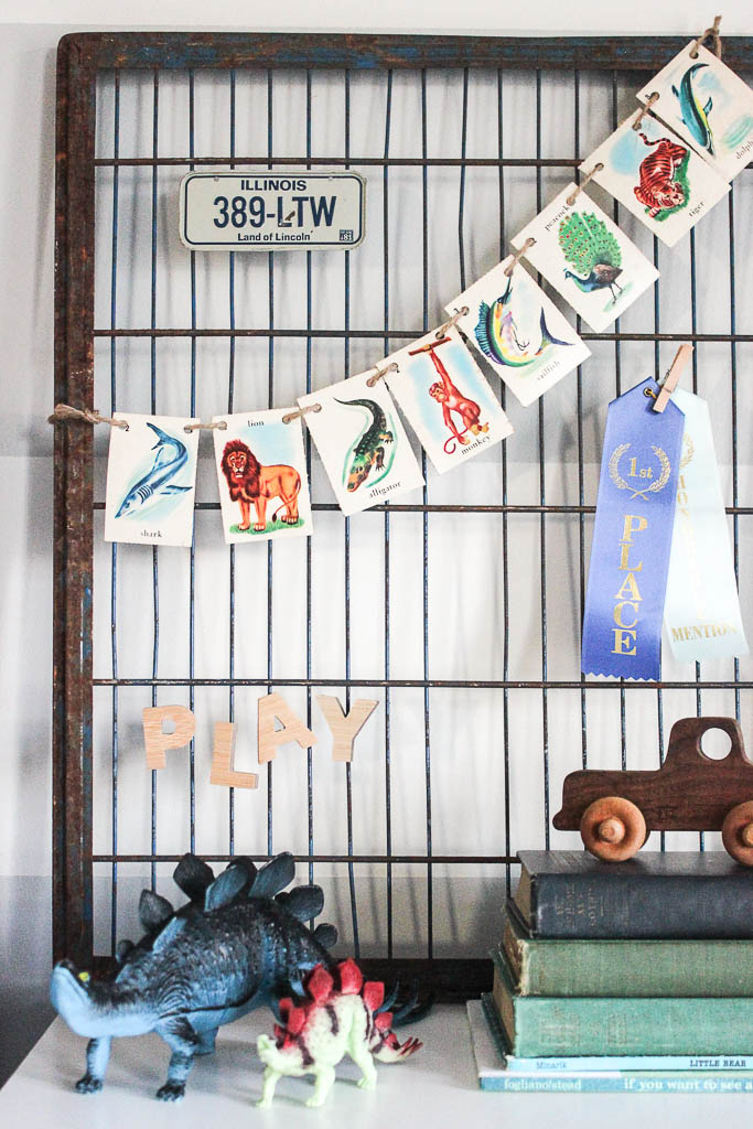 industrial kids decor
