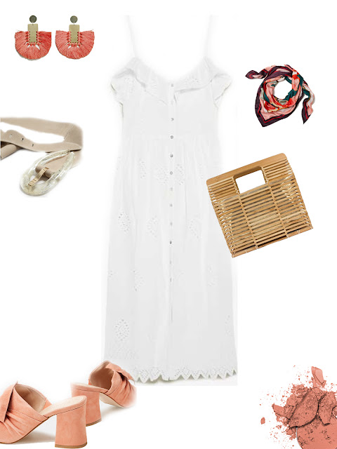 Little white dress for Summer