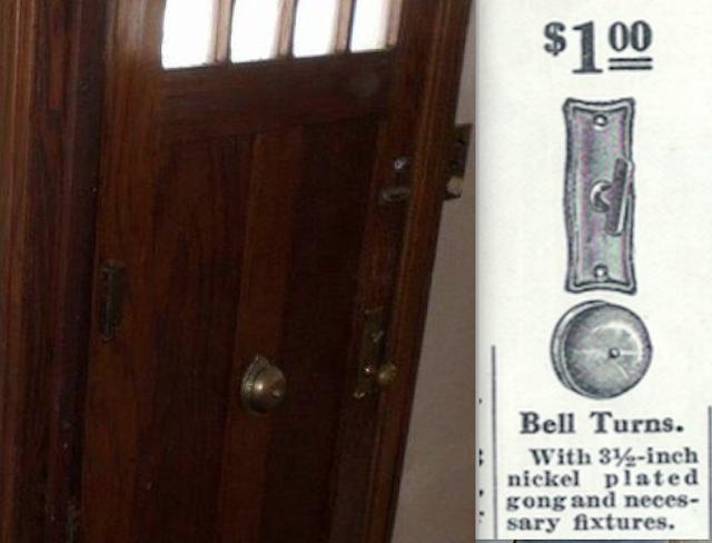 Sears Craftsman door and Stratford hardware 700 Elk Street, Beatrice, Nebraska • probable Sears Hawthorne