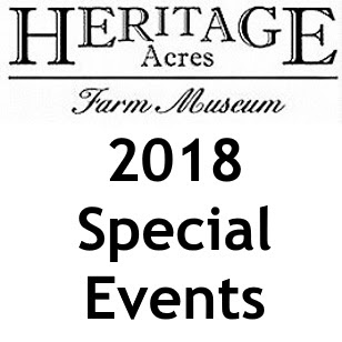 Heritage Acres special events