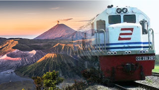BROMO SUNRISE TOURS BY TRAIN START FROM JOGJA