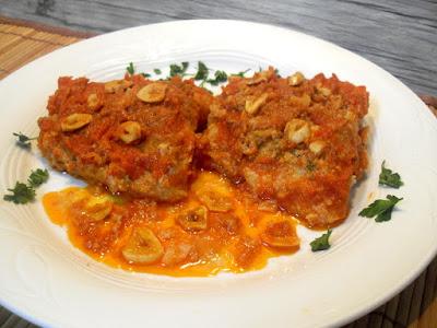 Bacalao a la llauna en salsa de tomate