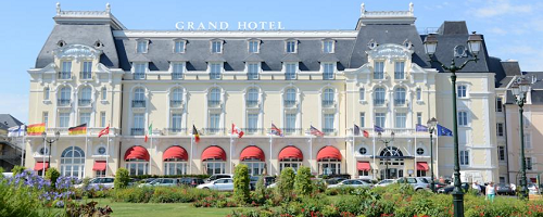Grand Hotel Cabourg (Cabourg, Francia)