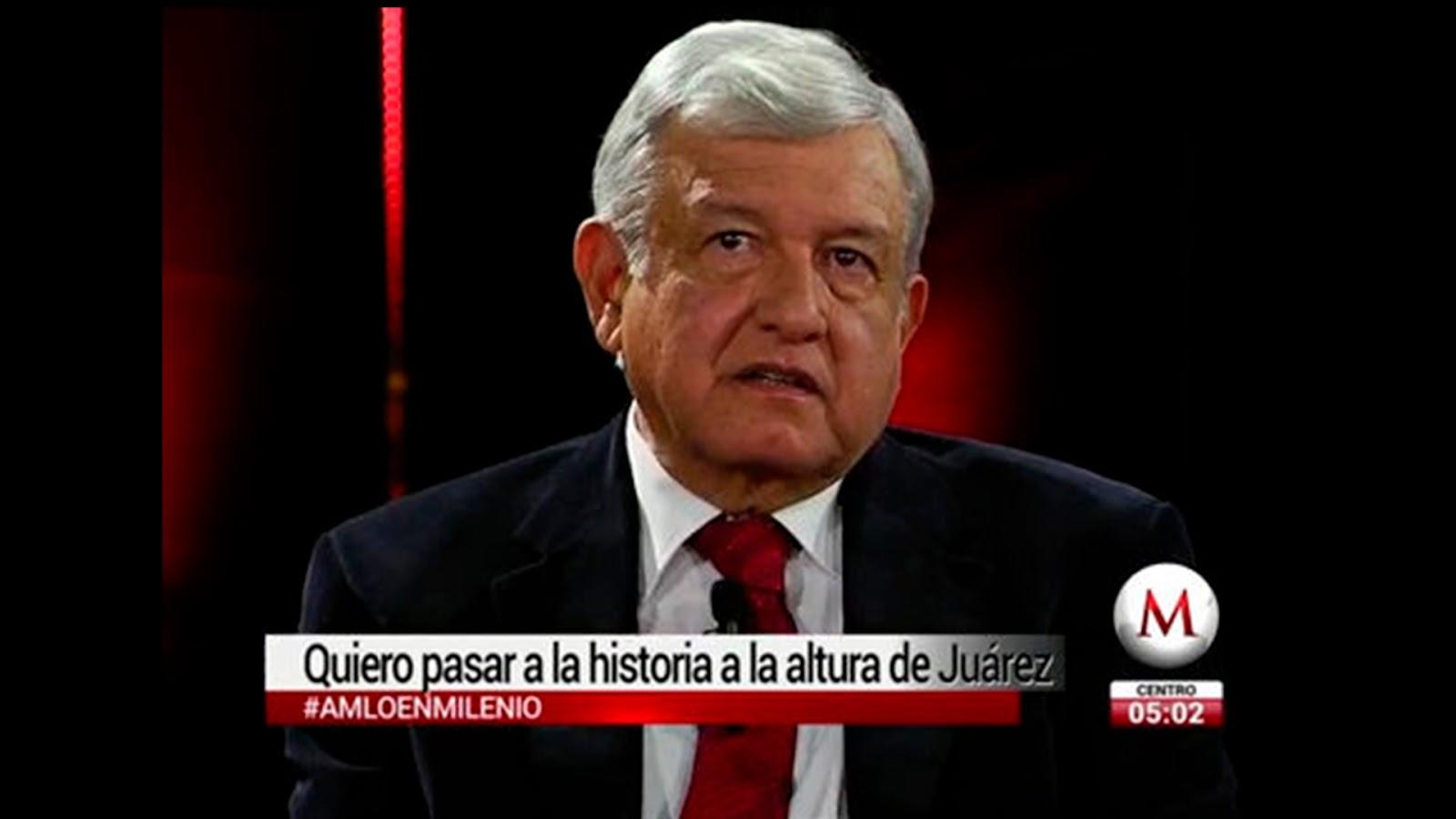 Las 10 mejores frases de AMLO en el debate con periodistas de Milenio. (VIDEO)