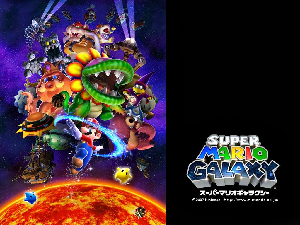 Super Mario Galaxy Wallpaper: SuperPhillip Central: Top Ten Super Mario Series Soundtracks