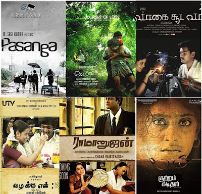 Tamil Nadu State Film Awards 2009-2014 Best Films