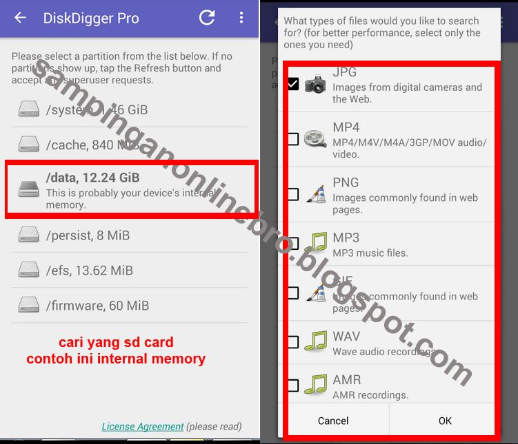 Cara Mengembalikan Data File Terhapus Di Android Tanpa PC Komputer ...