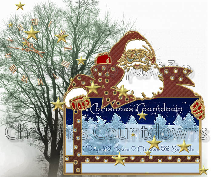 Christmas Flash Countdown widgets 2011 for Websites