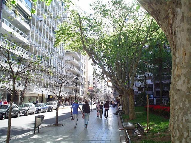 Ruas para deficientes físicos em Córdoba