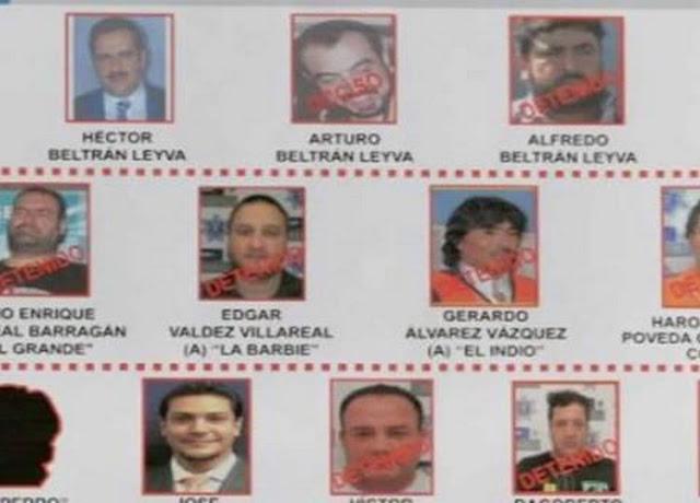 Estan son las 7 bandas criminales que se repartieron el imperio de los Beltrán Leyva