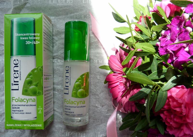 Lirene FOLACYNA - przeciwzmarszczkowe serum napinające na twarz, szyję i dekolt