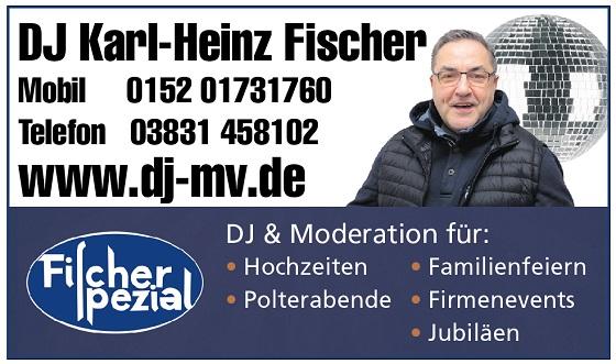 DJ Rügen -  DJ Geburtstag Rügen, Geburtstags DJ Fischer Spezial mobile Disco