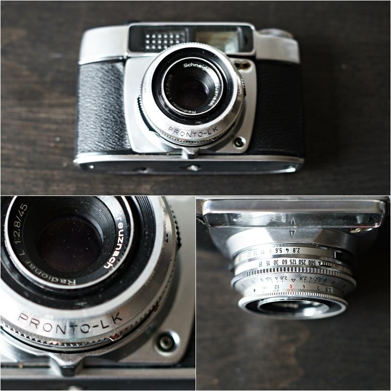 Blog + Fotografie by it's me! - Makro Montag - Collage einer analogen Kamera