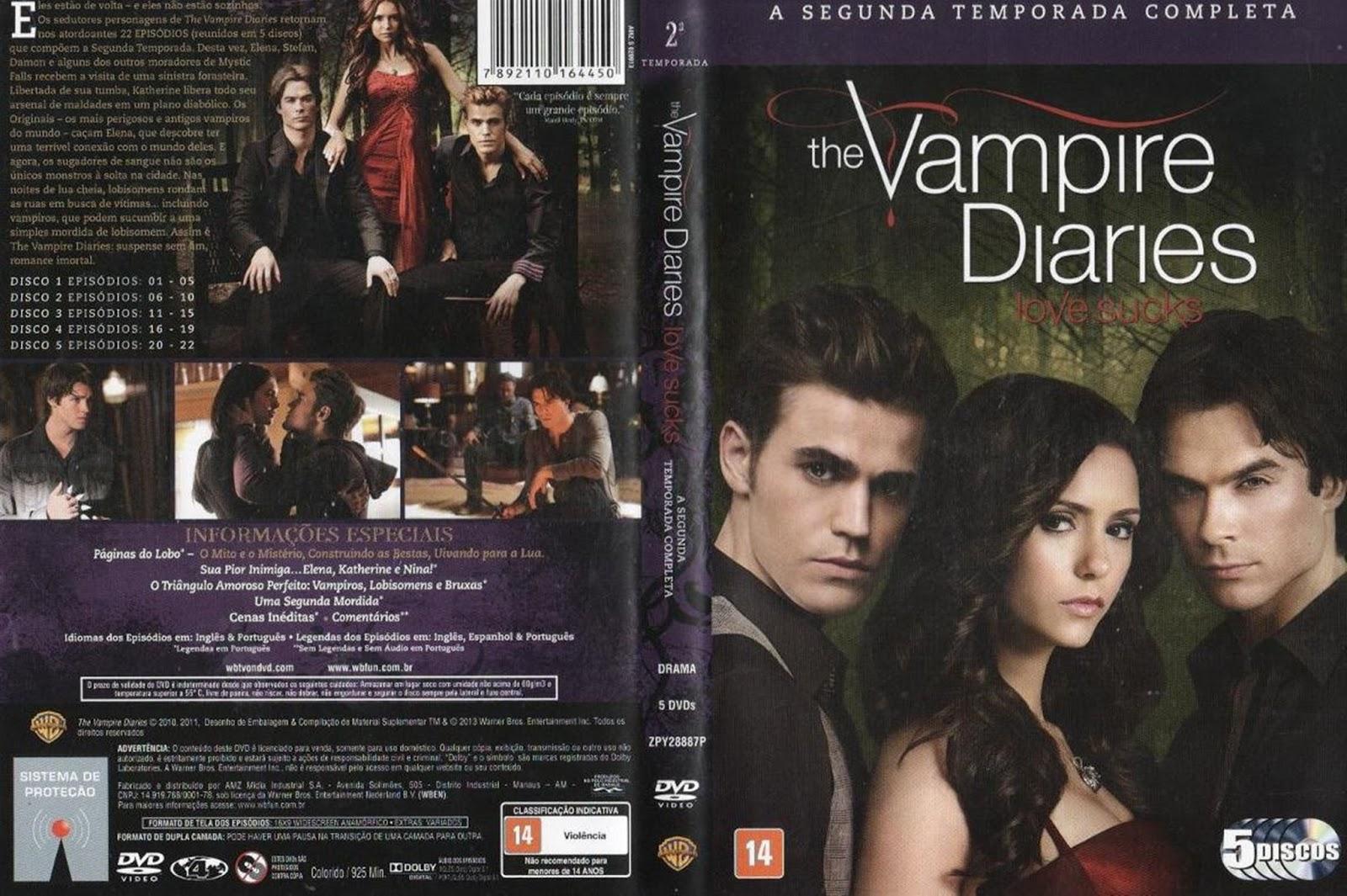 diario de um vampiro 2 temporada dublado rmvb