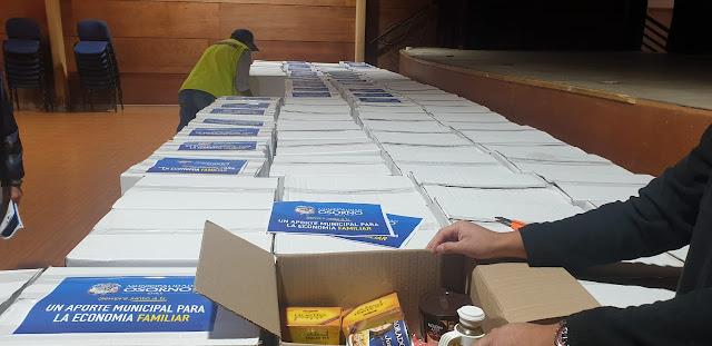 Distribuirán 700 cajas de alimentos a familias de Osorno