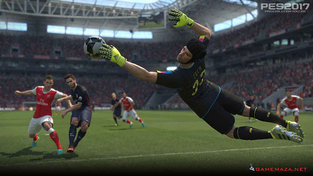 Pro Evolution Soccer (PES) 2017 Gameplay Screenshot 4