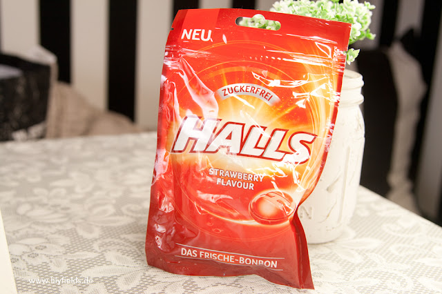 Halls - Frischebonbon - Strawberry Flavour