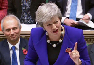 'I won't accept Brexit deal' says UK prime minister Theresa May