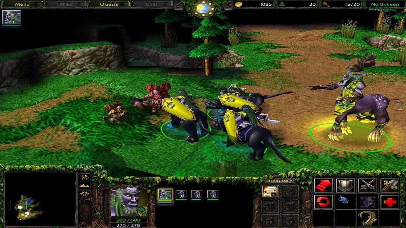 تحميل لعبة Warcraft 3 Regin Of Chaos مضغوطة برابط واحد مباشر كاملة مجانا