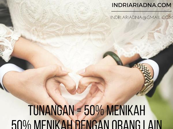 Tunangan : 50% Menikah, 50% Menikah Dengan Orang Lain