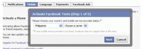 New Facebook Login Account Security Settings
