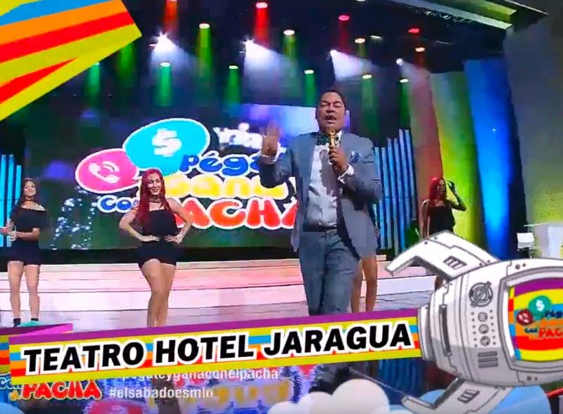 """¡Animo! Disfruta de """"Pégate y Gana con El Pachá"""" desde el Teatro La Fiesta del Hotel Jaragua"""