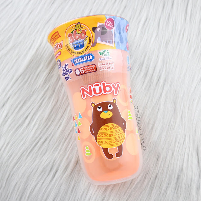 Nuby Insulated 360 Wonder Cup  |  The Beauty Puff