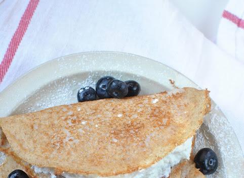Śniadaniowo mi #2: Naleśniki gryczane (z kaszy gryczanej)
