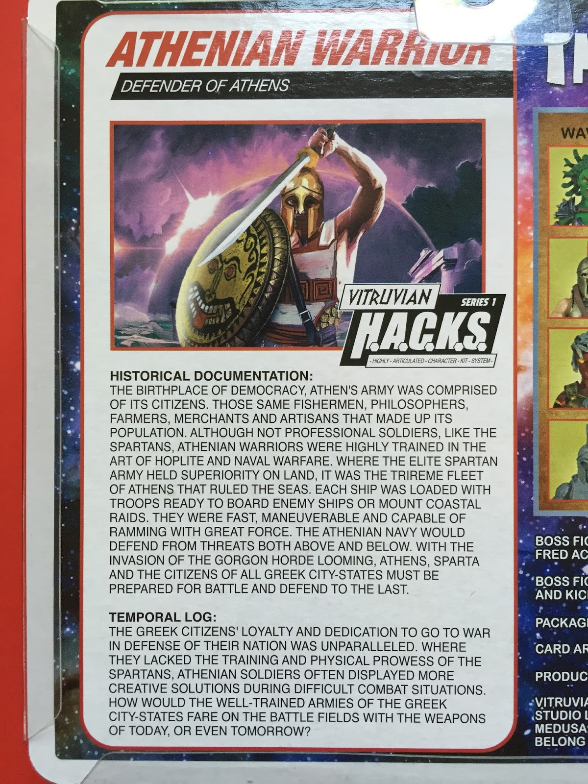 G I  Jigsaw: Boss Fight Studios Vitruvian HACKS Series 1 Wave 2