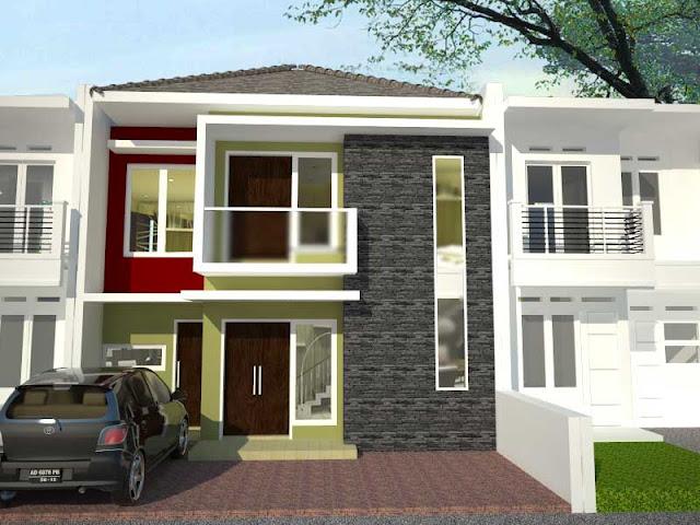 desain rumah beda dengan desain villa
