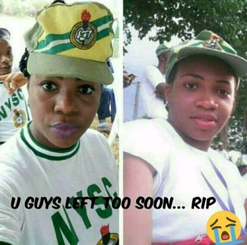 Two female NYSC members reportedly die in car accident