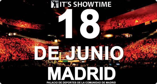 It´s Showtime  en el Palacio de los Deportes de la Comunidad de Madrid