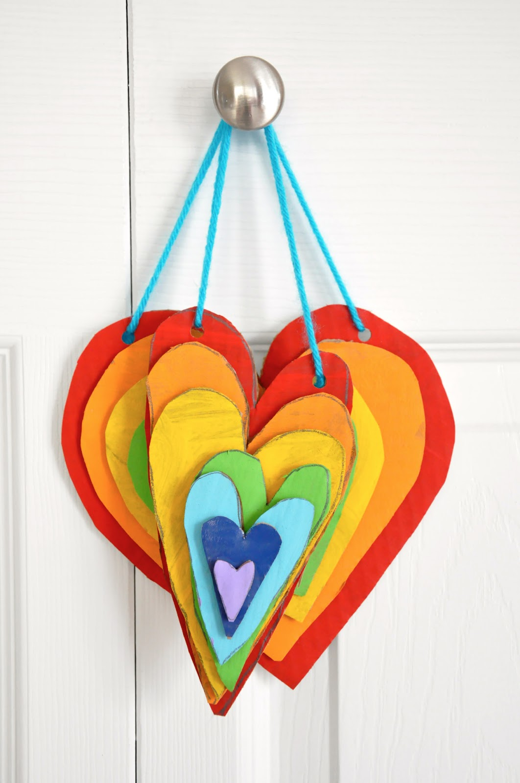 11 Heart Art Projects For Kids | Valentines art for kids ... |Heart Art Projects