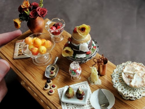 16-Dessert-Table-Small-Miniature-Food-Doll-Houses-Kim-Fairchildart-www-designstack-co